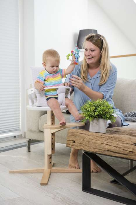 Weight-Monitoring High Chairs - This Adjustable High Chair Features an App-Connected Built-in Scale