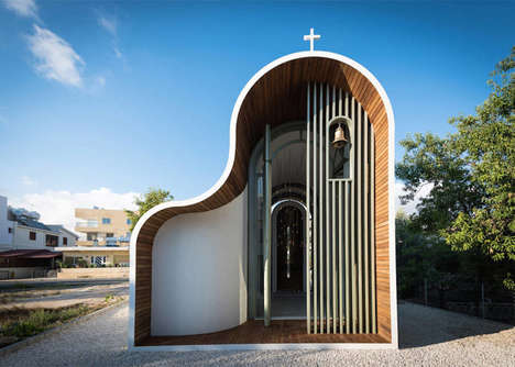 Charming Miniature Chapels - This Tiny Church is Inspired by Traditional Byzantine Architecture