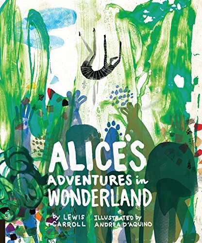 Collaged Child Storybooks - This Alice's Adventures in Wonderland Edition Uses Unique Illustrations