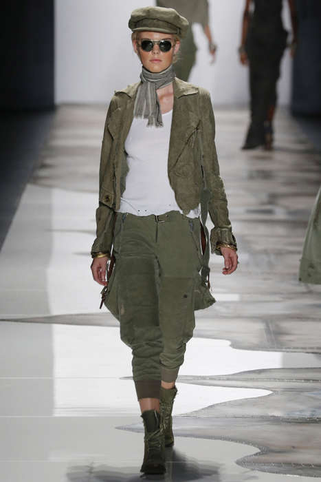 Nomadic Militant Attire - The Greg Lauren Spring/Summer Collection Offers Bohemian Utilitarianism