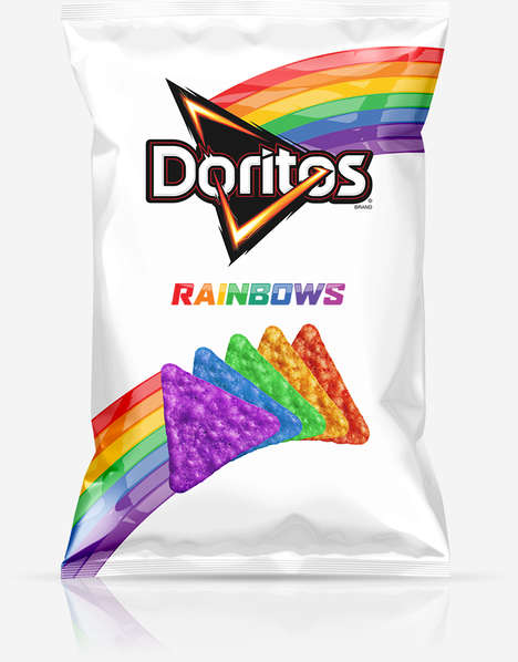 Colorful Pride Chips - These Doritos Rainbow Chips Support 'It Gets Better'