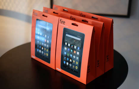 Tablet Six-Packs - This Amazon Tablet Can Be Bought in a Family Pack