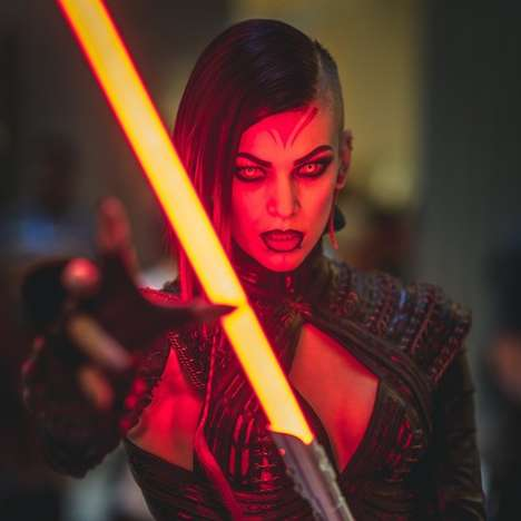 Feminine Dark Lord Cosplays - This Star Wars Sith Character Costume Adds a Female Spin