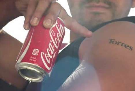 Tattoo-Supplying Colas - These Coca-Cola Packages Honor National Hispanic Heritage Month