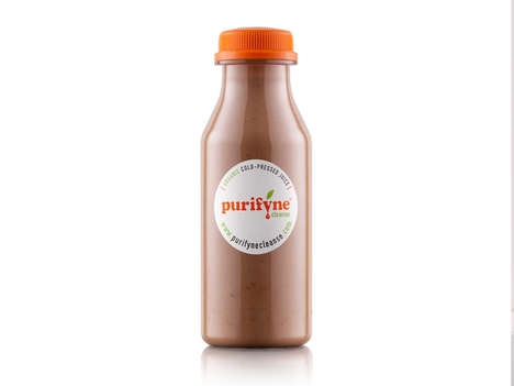 Rich Cacao Drinks - This Creamy Mousse-Inspired Chocolate Drink is Made with Avocados