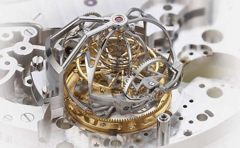 Record-Breaking Mechanical Watches - The World's Most Complicated Watch Boasts 57 'Complexities'