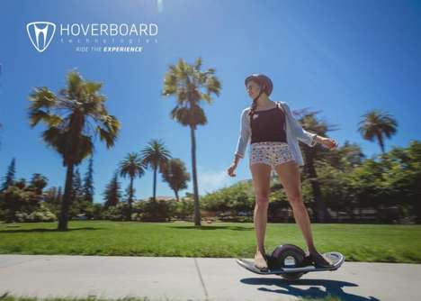 Futuristic Electronic Skateboards - This Single-Wheel Skateboard Zips Around Like a Hoverboard