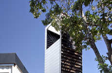 Eco Observation Towers - This Giant Periscope is Made from Recycled Materials