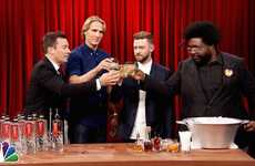Talk Show Host Cocktails - The 'Fallon' Cocktail Blends Together Sweet and Spicy Ingredients