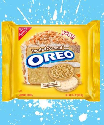 Toasted Coconut Sandwich Cookies - These Limited-Edition Oreos are Infused with Coconut Flavor