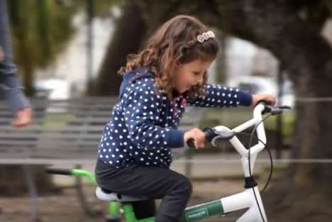 Kid-Friendly Bike Rentals - This Bike Loaning Service Includes Training Wheels