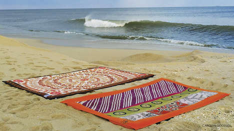Beach Yoga Mats - Twisted Guru's Non-Slip Yoga Mat is Ideal for Striking Poses on the Sand