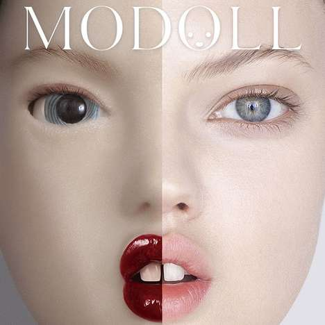 Realistic Fashion Model Replicas - This Model Doll is a 3D-Printed Version of a Real-Life Model