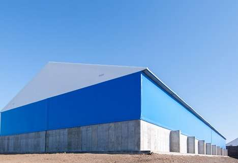 Sustainable Fabric Structures - This Industrial Building Boasts a Lightweight Fabric Cover