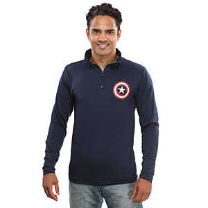Patriotic Superhero Sweathers - This Captain America Pullover Celebrates the Hero's Loyalist Lineage