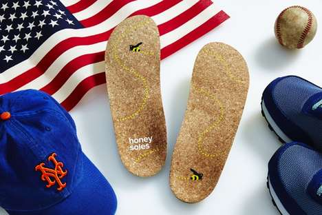 Comfort-Focused Cork Insoles - These Inserts Make It Easier to Wear Shoes Without Socks
