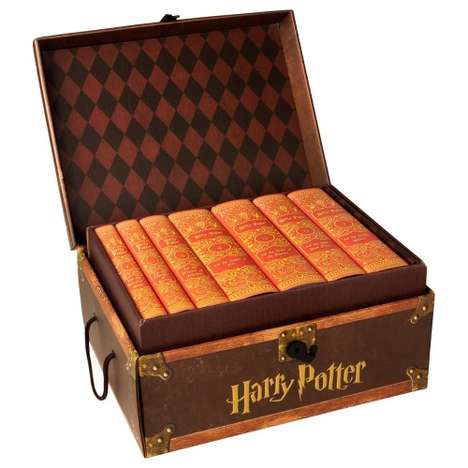 Wizardly House Novels - These Newly Bound Harry Potter Books are Themed by Different Hogwarts Houses