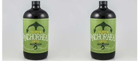 Cold Brew Concentrates - The Anchorhead Cold Brew Coffee is Designed to be a Caffeinated Drink Base