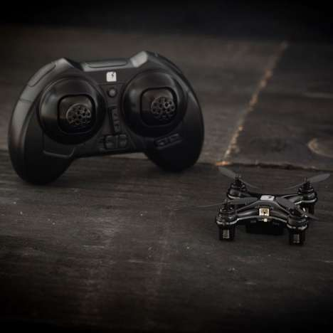 All-Black Minidrones - The SKEYE Nano Drone Now Comes in a Limited Edition Colorway