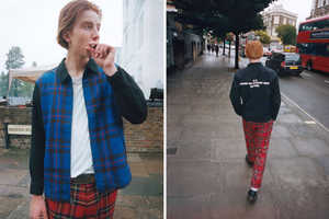 This Comme des Garcons x Supreme Collection Draws on UK Punk Subculture