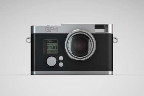 Feature-Enhancing Camera Cases - The Exo GP-1 Turns Your GoPro into a Stylish and Easy to Use Camera