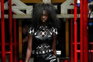 The KTZ Spring/Summer Collection Dresses Club Kids in Avant-Garde Rocker Looks