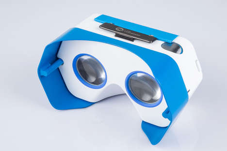 Roadworthy Virtual Reality - This Plastic VR Headset Protects Phones for Adventurous Viewing