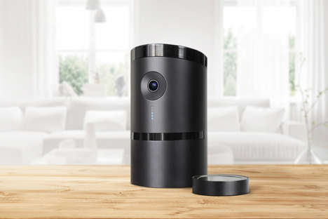 Autonomous Security Systems - The 'Angee' Home Security Device Uses Bluetooth and Voice Recognition