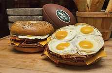 The Jew York Jets Jumbo Jet Breakfast Bagel Costs a Whopping $50