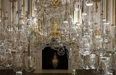 Insect Lightbulb Installations - This Musical Crystal Exhibit is Part of the London Design Festival
