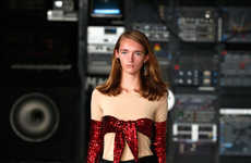 Gritty Techno Fashion - This MM6 Maison Margiela Collection Is Inspired by London's Techno Dens