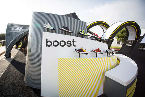 Pop-Up Shoe Stores - This Mobile Shop Lets Customers Experiment with High-Tech Footwear
