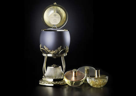 Luxe $140,000 Perfumes - The 'World of Diamonds' Most Expensive Perfume is Infused with Diamonds