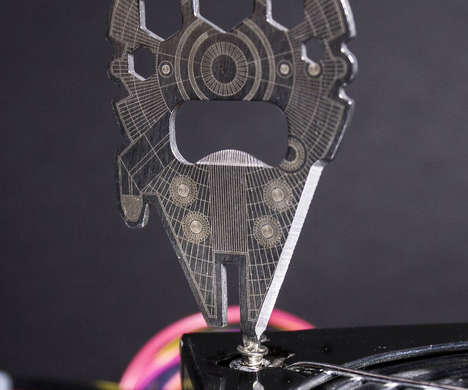 Galactic Multi-Tools - The Millennium Falcon Multi-Tool Opens Beer, Tightens Screws and Slices Boxes
