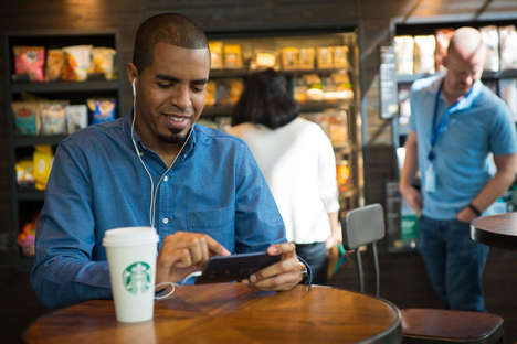 Speedy Coffee Apps - The Starbucks Mobile App Lets Users Skip the Line for Their Customized Drink
