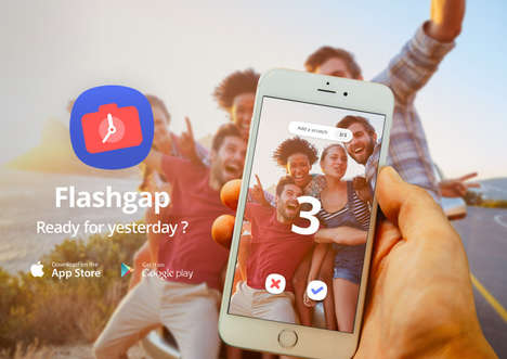 Delayed Photo-Sharing Apps - 'Flashgap' Allows Users to View Wild Photos 12 Hours After the Fact