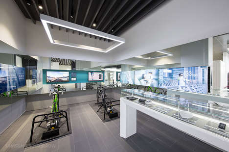 Experiential Tech Retailers - The Samsung D'Light Experience is a Multi-Level Immersive Retail Shop