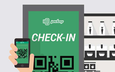 Speedy Supermarket Checkout Apps - This Retail App Helps Reduce Grocery Store Wait Times