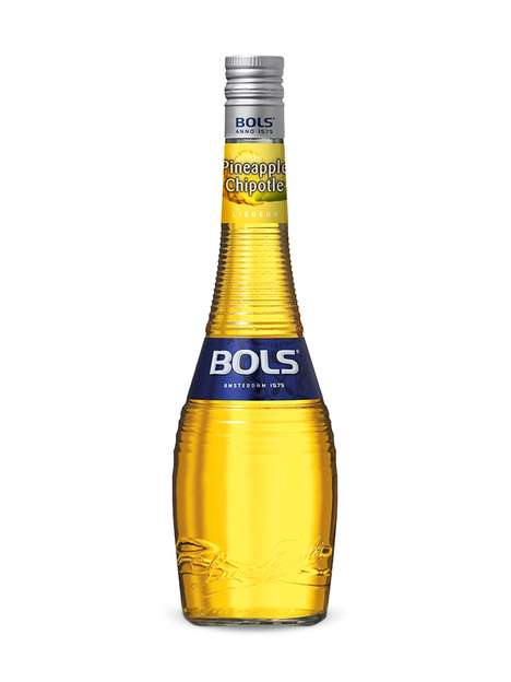 Spicy Tropical Liqueurs - Bols' Flavored Liqueur Now Comes in Exotic Pineapple Chipotle