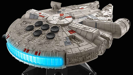 Galactic Audio Speakers - This Millennium Falcon Speaker Lets You Stream Music from 30 Feet Away