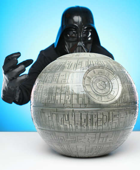 Galactic Superweapon Cookie Jars - This Death Star Biscuit Dish is Inspired by Vessel from Star Wars