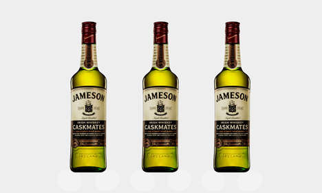 Cask-Aged Irish Whiskeys - This New Release from Jameson Was Aged in Irish Stout Oak Casks