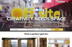 Event Rental Platforms - 'Splacer' is a Venue Rental Site for Off-Site, Party & Event Space Rentals