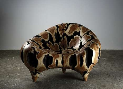 Discarded Tree Trunk Sculptures - This Sculptor Turns Tree Trunks into Modern Furniture