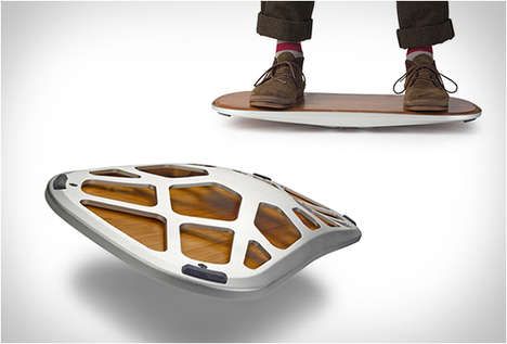 Elegant Balancing Boards - This Hand-Crafted Motion Platform Keeps You Constantly Engaged