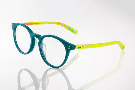 Collaborative Sportswear Glasses - Nike Teamed Up with Kevin Durant to Create a Vibrant Eyewear Line
