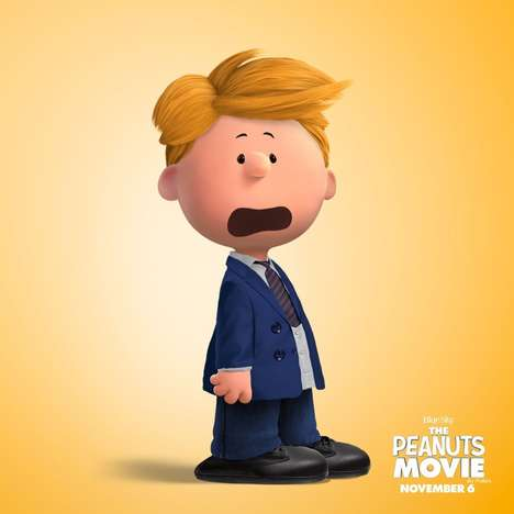 Cartoon Selfie Tools - The 'Peanutize Me' Game was Created in Anticipation for the Peanuts Movie