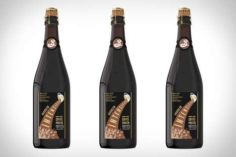 Coffee-Flavored Beers - This Barrel-Aged Porter is Infused with Cold Brew Coffee