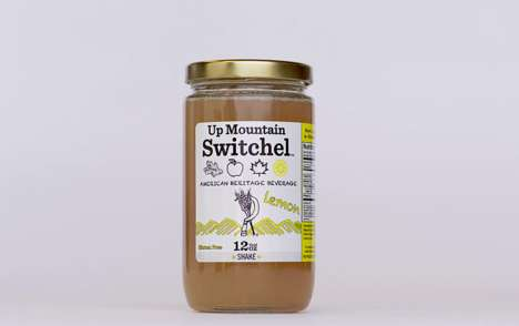 "Gingery Vinegar Beverages - Up Mointain Switchel is Being Touted as ""The New Kombucha"""
