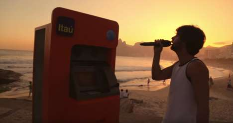 Musical Invitation Machines - This Karaoke Machine Invites People Who Sing to 'Rock in Rio'